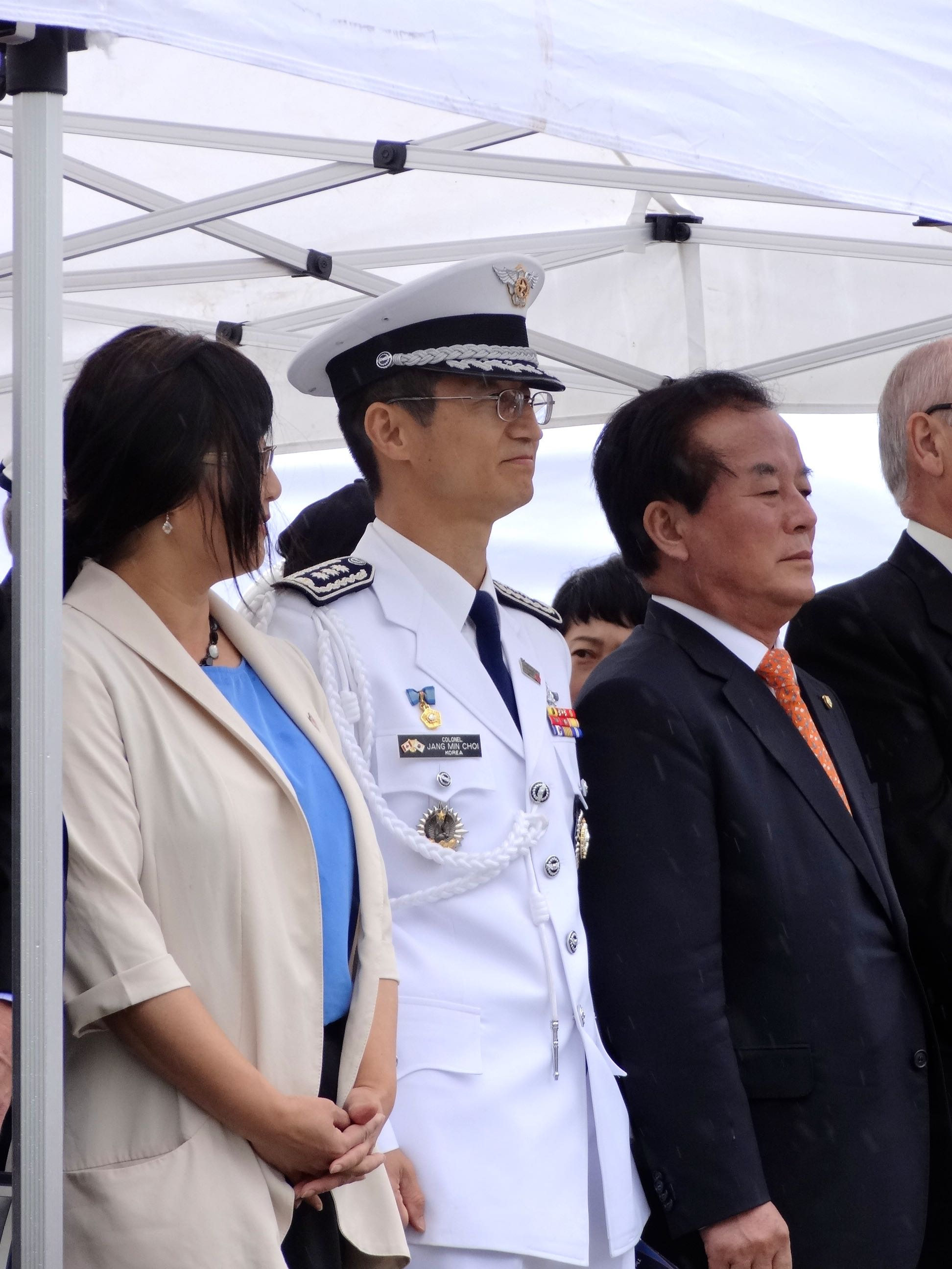 Korean Ambassador & Military Attaché